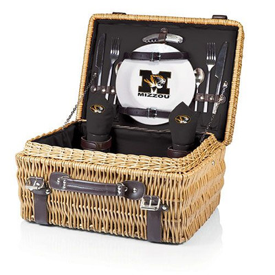 Missouri Tigers Champion Picnic Basket | Picnic Time | 208-40-179-394-0