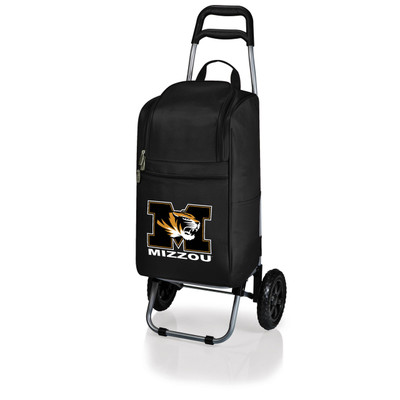 Missouri Tigers Rolling Cart Cooler | Picnic Time | 545-00-175-394-0