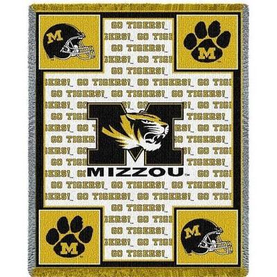 Missouri Tigers Logo Stadium Blanket | Pure Country | 1485-A