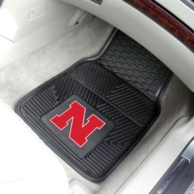 Nebraska Huskers Heavy Duty Car Mats   Fanmats   8871