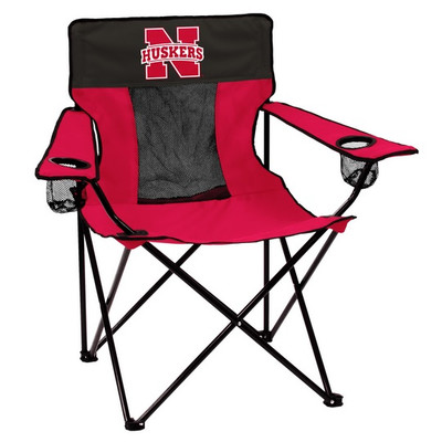 Nebraska Huskers Elite Tailgate Chair | Logo Chair | 182-12E