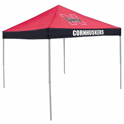 Nebraska Huskers Canopy Tailgate Tent | Logo Chair | 182-39E