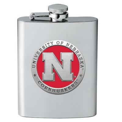 Nebraska Huskers Flask | Heritage Pewter | FSK10183ER