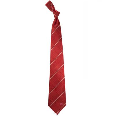 Nebraska Huskers Oxford Woven Silk Tie | Eagles Wings | 4902