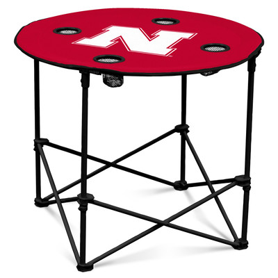 Nebraska Huskers Portable Table | Logo Chair | 182-31