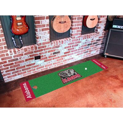 Alabama Crimson Tide Putting Green Mat | Fanmats | 9064