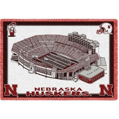 Nebraska Huskers Stadium Stadium Blanket | Pure Country | 3501-A