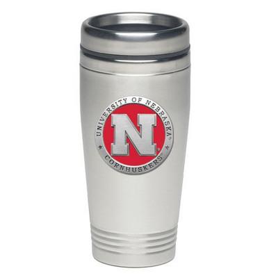 Nebraska Huskers Thermal Mug | Heritage Pewter | TD10183ER