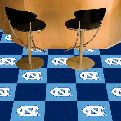 UNC Tar Heels Carpet Tiles | Fanmats | 8534