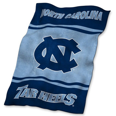 UNC Tar Heels Ultrasoft Blanket | Logo Chair | 185-27