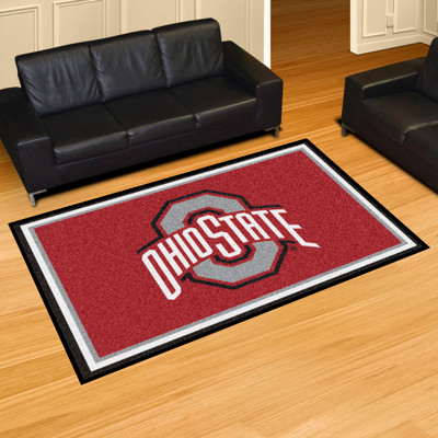 Ohio State Buckeyes Area Rug 5' x 8' | Fanmats | 6265