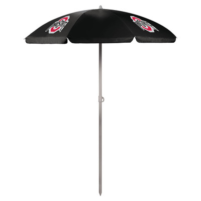 Ohio State Buckeyes Beach Umbrella | Picnic Time | 822-00-179-444-0