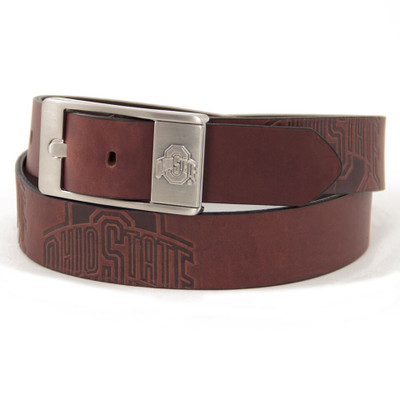 Ohio State Buckeyes Brandish Brown Belt | Eagles Wings | 9187-