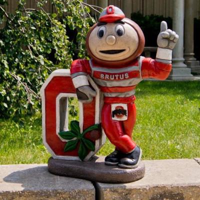 Ohio State Buckeyes Mascot Garden Statue | Stonecasters | 2983HT