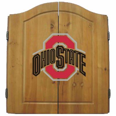 Ohio State Buckeyes Dart Board Cabinet   Imperial International   58-4015