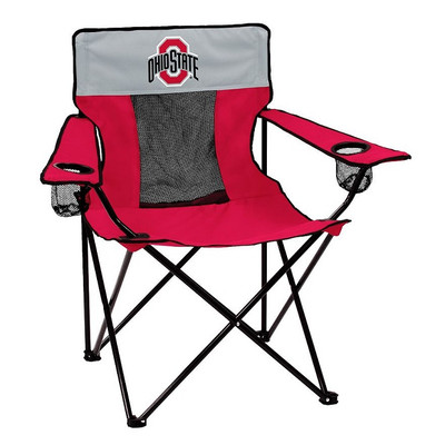 Ohio State Buckeyes Elite Tailgate Chair | Logo Chair | 191-12EE