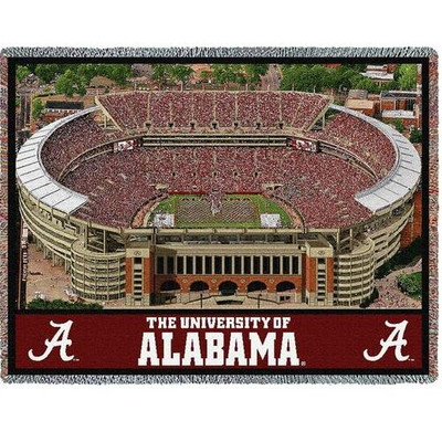 Alabama Crimson Tide Stadium Stadium Blanket | Pure Country | 6424-T