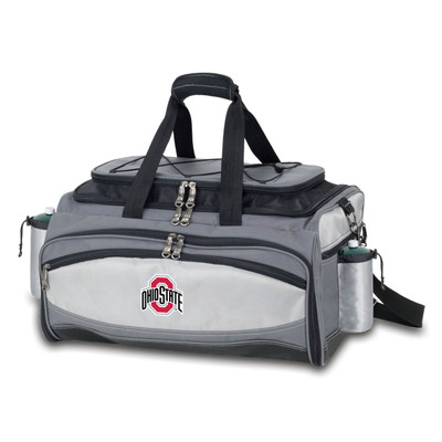 Ohio State Buckeyes Vulcan Portable Gas Grill | Picnic Time | 770-00-175-442-0