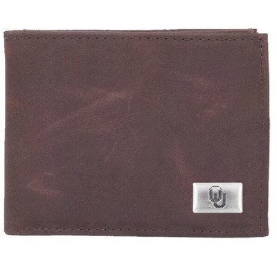 Oklahoma Sooners Bi-Fold Wallet | Eagles Wings | 2541