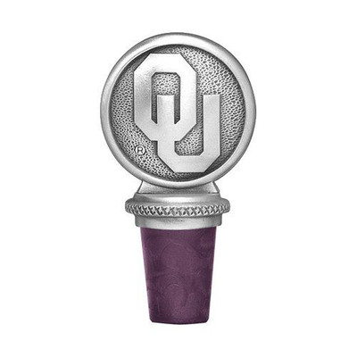 Oklahoma Sooners Bottle Stopper | Heritage Pewter | BS10194