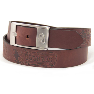 Oklahoma Sooners Brandish Brown Belt | Eagles Wings | 9194-