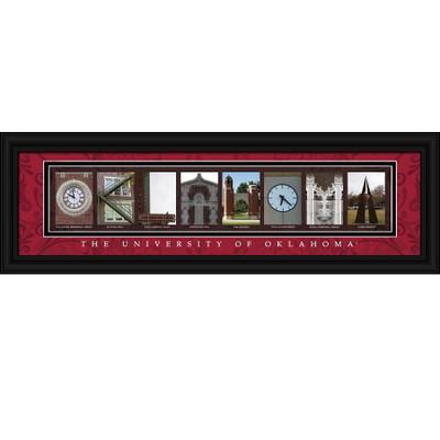 Oklahoma Sooners Letter Art | Get Letter Art | CLAL1B22OKLA