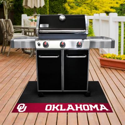 Oklahoma Sooners Grill Mat | Fanmats | 12129