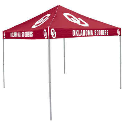 Oklahoma Sooners Color Tailgate Tent | Logo Chair | 192-41