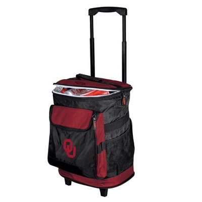 Oklahoma Sooners Rolling Cooler | Logo Chair | 192-57