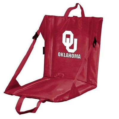 Oklahoma Sooners Stadium Seat   Logo Chair   192-80