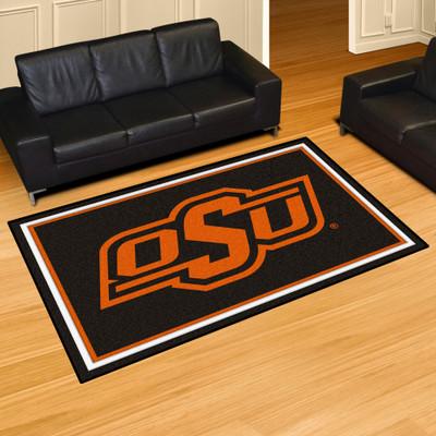 Oklahoma State Cowboys Area Rug 5' x 8' | Fanmats | 6908