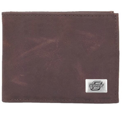 Oklahoma State Cowboys Bi-Fold Wallet | Eagles Wings | 2544