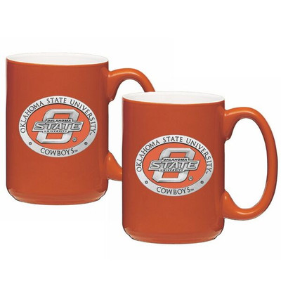 Oklahoma State Cowboys Coffee Mug Set | Heritage Pewter | CM10152E