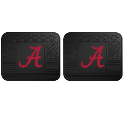 Alabama Crimson Tide Utility Car Mats Set of Two | Fanmats | 12275