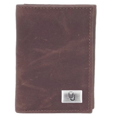 Oklahoma Sooners Tri-Fold Wallet | Eagles Wings | 2542