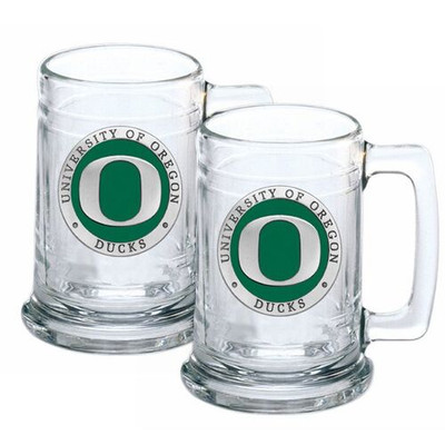 Oregon Ducks Beer Mug Set of Two | Heritage Pewter | ST10169E