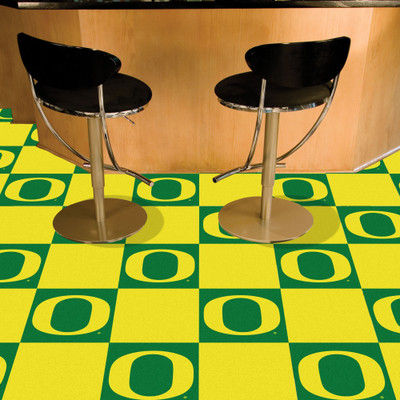 Oregon Ducks Carpet Tiles | Fanmats | 11936