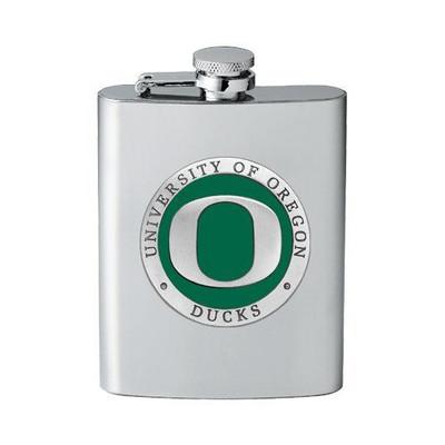 Oregon Ducks Flask | Heritage Pewter | FFS10169E