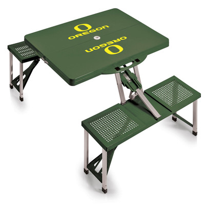Oregon Ducks Folding Picnic Table | Picnic Time | 811-00-121-474-0