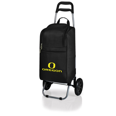Oregon Ducks Rolling Cart Cooler | Picnic Time | 545-00-175-474-0
