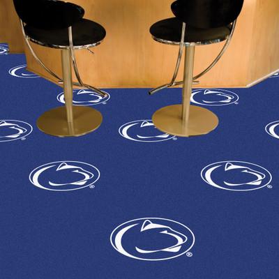 Penn State Nittany Lions Carpet Tiles   Fanmats   8525