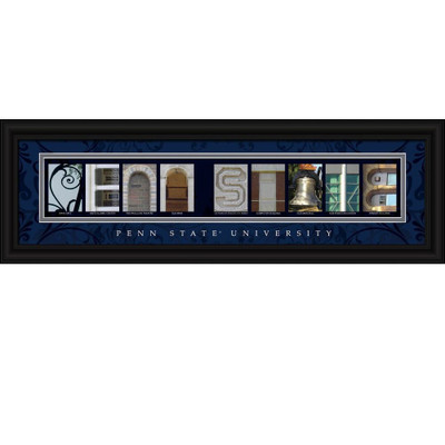 Penn State Nittany Lions Letter Art | Get Letter Art | CLAL1B22PSUN