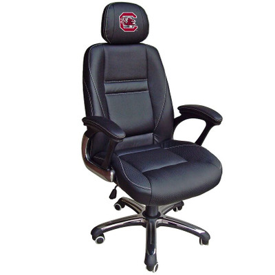South Carolina Gamecocks Leather Office Chair | Wild Sports | 901C-SC