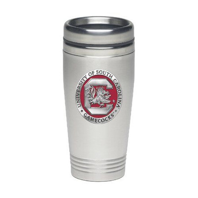 South Carolina Gamecocks Thermal Mug | Heritage Pewter | TD10165E