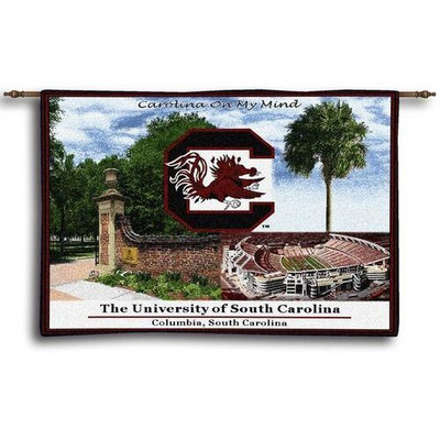 South Carolina Gamecocks Tapestry Wall Hanging | Pure Country | 466-whsc