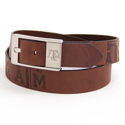 Texas A&M Aggies Brandish Brown Belt | Eagles Wings | 9348-