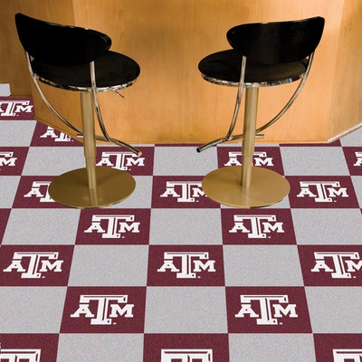 Texas A&M Aggies Carpet Tiles | Fanmats | 8539