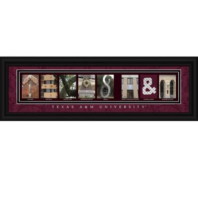 Texas A&M Aggies Letter Art | Get Letter Art | CLAL1B22TXAM