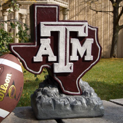 Texas A&M Aggies Mascot Garden Statue | Stonecasters | 2991HT