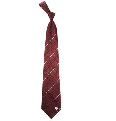Texas A&M Aggies Oxford Woven Silk Tie